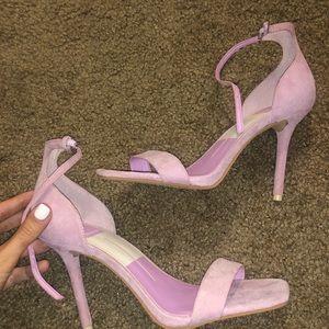 dolce vita lavender/pink heel size 7